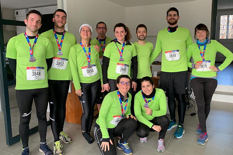 Groupe Pierreval Foulées de Vincennes 2019