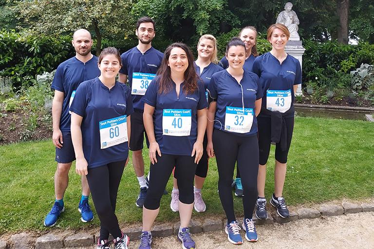 Le Groupe Pierreval participe au marathon du Futuroscope 2019