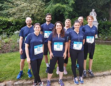 Team Pierreval marathon Futuroscope